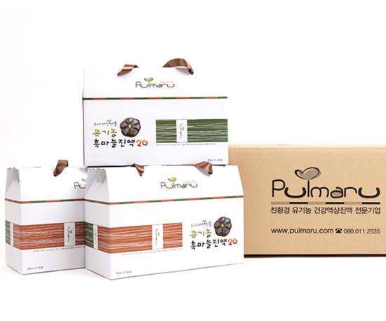 PULMARU唯自然有机黑蒜汁20 90袋