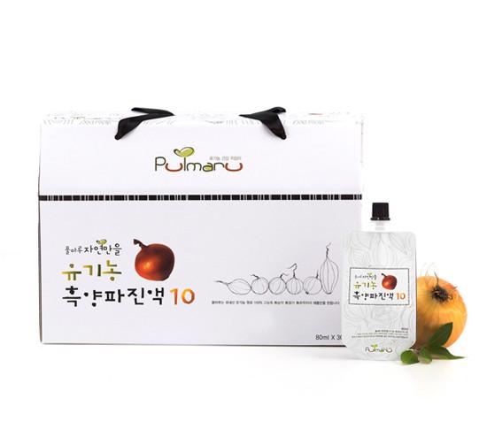 PULMARU唯自然有机黑洋葱汁10 30袋
