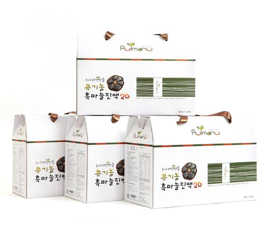 PULMARU唯自然有机黑蒜汁20 120袋